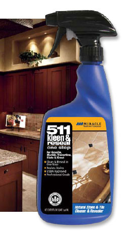 511 Kleen Amp Reseal 32 Oz Spray By Miracle Sealants Company