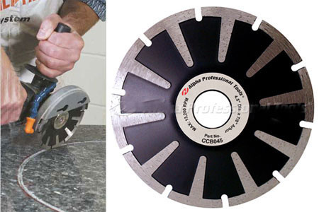 Alpha Contour for Granite / Engineered Stone, Contour Blade, By Alpha  Professional tools