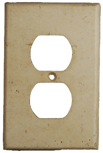Deco Electrical Plates Double Plug Plain Noce By Flooringsupplyshopcom