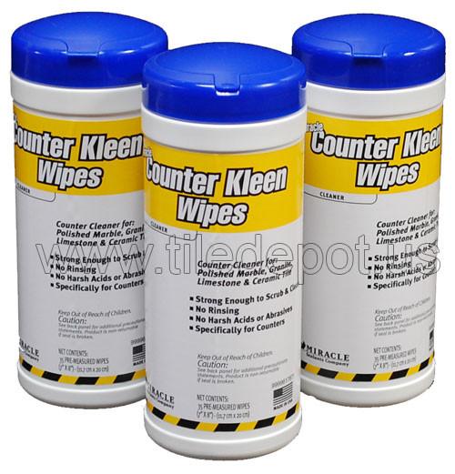 Miracle Counter Kleen Wipes By Flooringsupplyshop Com