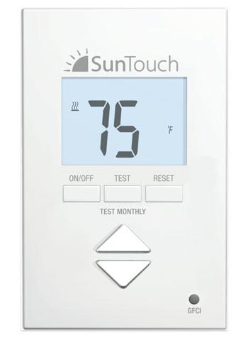 Non Programmable Floorstat Control 500550 By Suntouch Floor Warming System Distribute Tiledepot Us