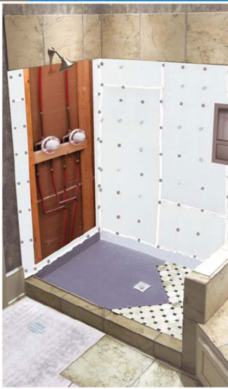 Ready To Tile Shower Pan Systems Flooring Supply