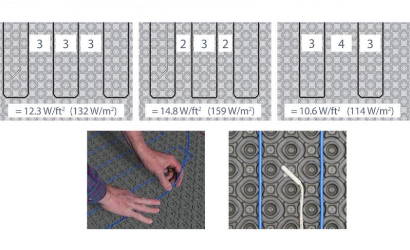 Heatmatrix Uncoupling Membrane Underfloor Heat Membrane By