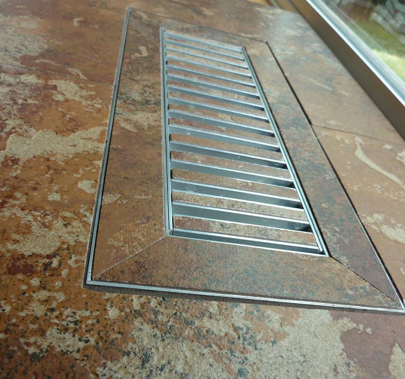 Chameleon Tile Vent Registers 3 X 12 By Flooringsupplyshop Com