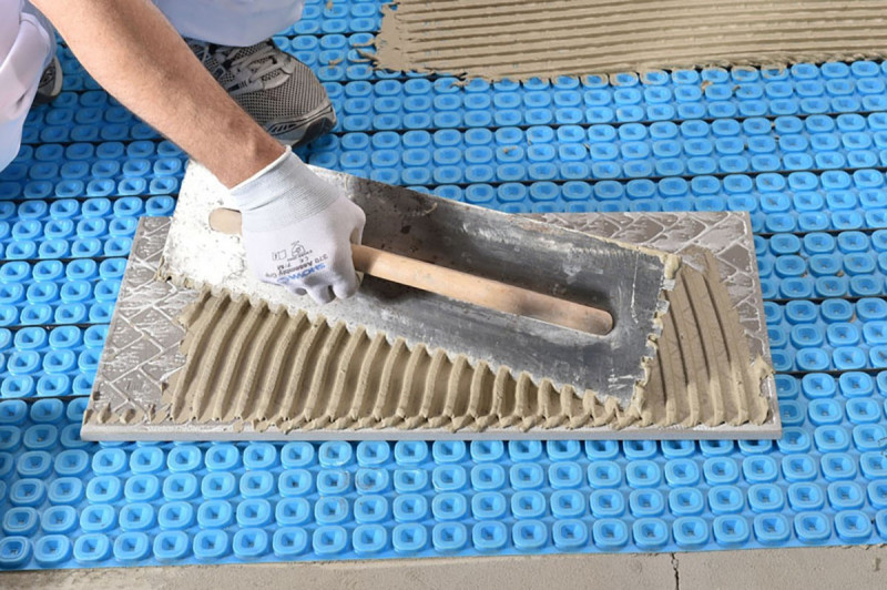 Heatmatrix Uncoupling Membrane Underfloor Heat Membrane