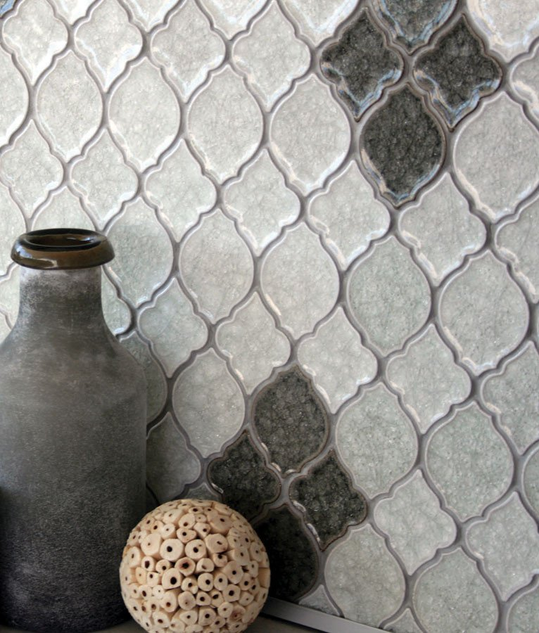 Cork Flooring Sacramento: Barossa Valley Crackle Glass Mini Trellis Cork By