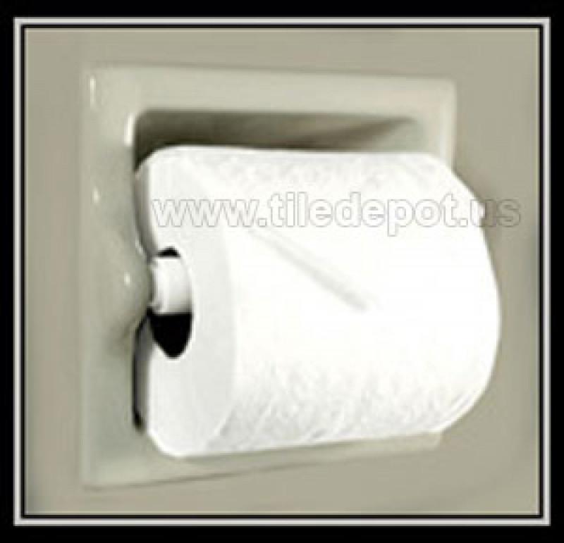 Towel Rack In Spanish: Recessed Tissue Holder Extended