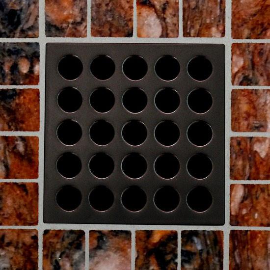 Square Shower Drain Oil Rubbed Bronze Pvd By Ebbe America