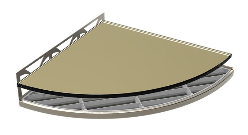 Structural Surfaces Claddy T-Shelf - Safari by flooringsupplyshop com