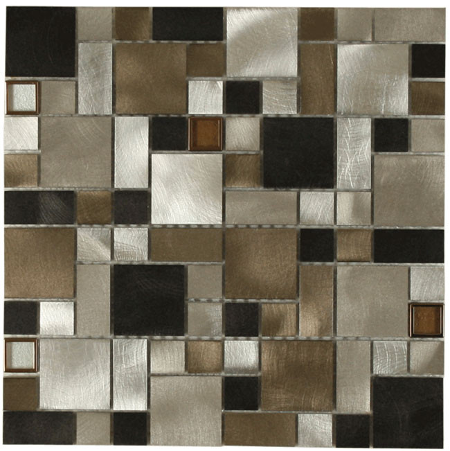 Victorian Metal Tile Versi With Touch Of Copper By