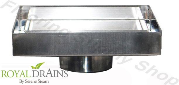 Tile Insert Point Drain 2 Stainless Steel At Flooringsupplyshop Com