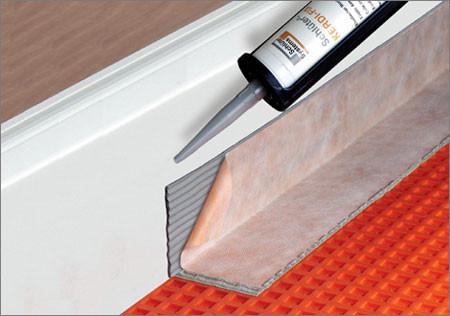 Schluter Kerdi Fix System Shower Waterproof Membrane By