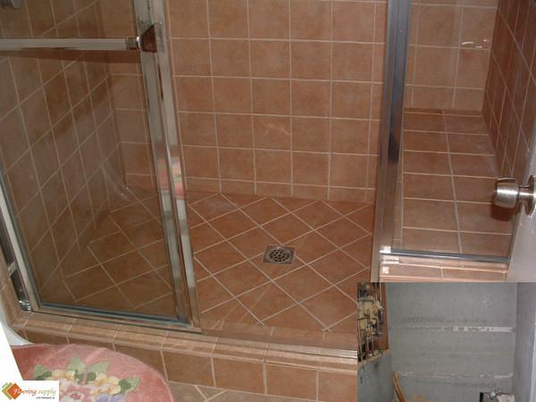 Shower Floor Tile Size Ready to Tile Shower Floor
