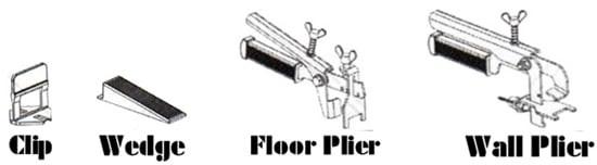 Raimondi tile leveling system, lippage, how to level floor tiles, shower wall leveler, RLS wedges, RLS spacers, RLS-KIT
