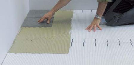 Blanke SecurMat , ceramic tile underlayment, Blanke Uni Mat Pro, tile underlayment, tile underlayment membrane, uncoupling tile underlayment, crack isolation properties
