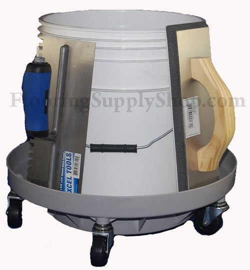Bucket Pilot Dolly By Flooringsupplyshop Com