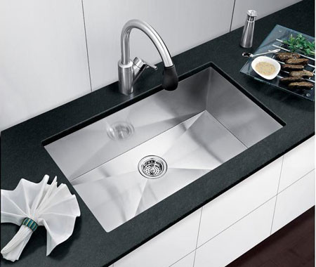 Stainless Steel sinks, Stainless Steel faucets by flooringsupplyshop.com