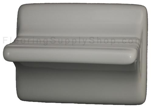 Ceramic Shaving Leg Rest White Glossy By