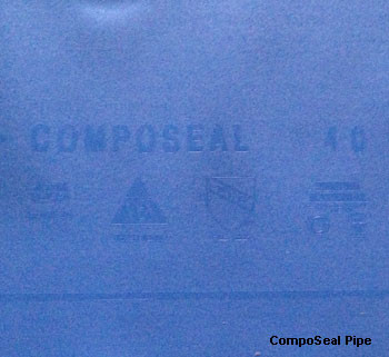 CompoSeal Pipe and Drain Waterproofing Protection