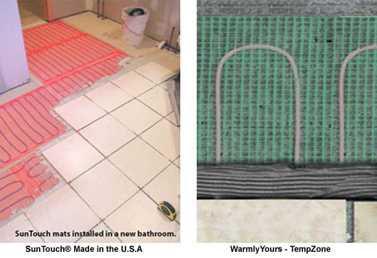 Heated floor mat, heat mat, radiant floor heat mat, radiant floor heating supply, radiant floor heating mat, radiant floor mat, flooring heating System, tile heating