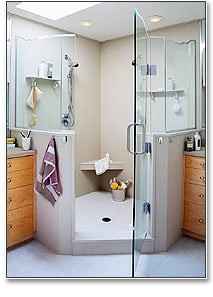 ready to tile Recess, ready to tile niches, recessed shower shelf, shower shelves, shower niches, flush mount shower shelves, tile shower wall shelves