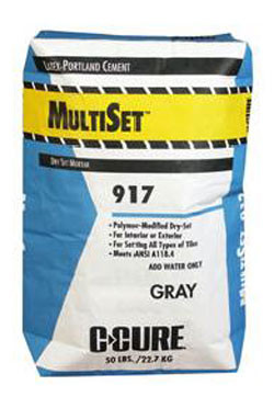 C Cure MultiSet 917 Latex-Portland Cement 50 Lbs