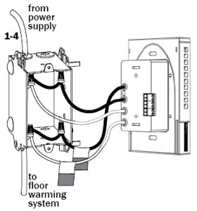 Underfloor Heating Wiring Diagram on wiring diagram electric underfloor heating