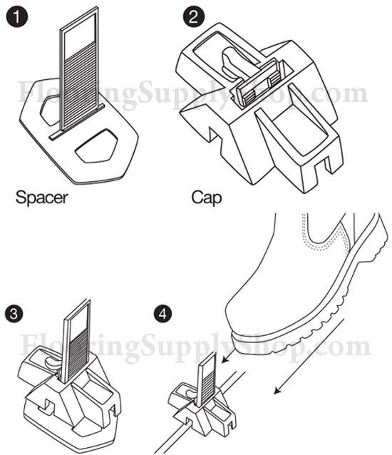DTA Lippage Leveling System DIY Kit