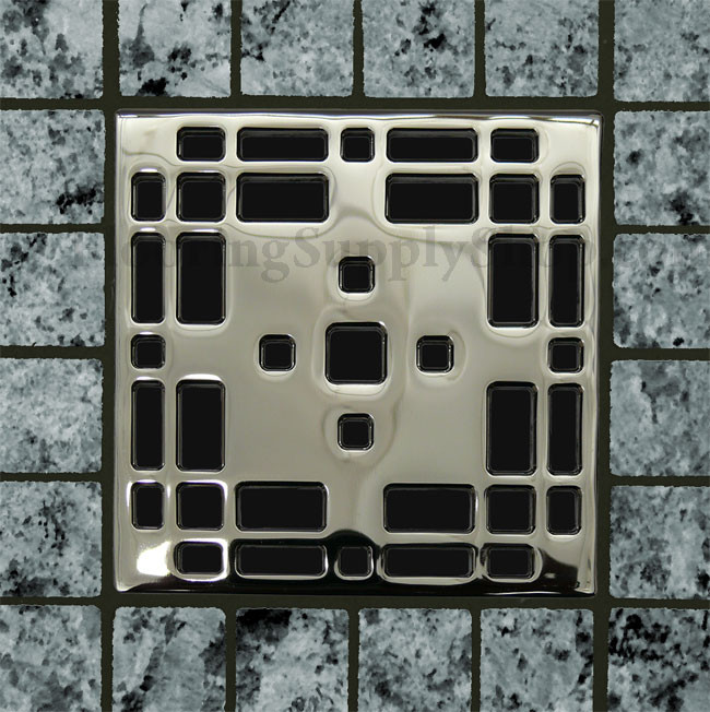 Ebbe Unique Square Shower Drain Craftsman By