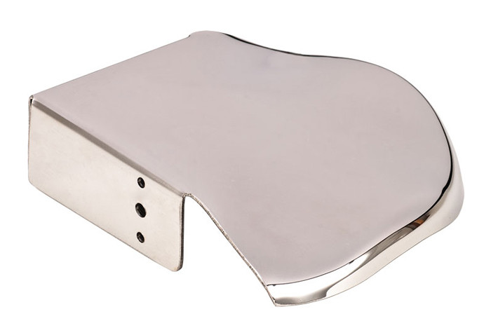 Wave Structural Corner Foot Rest Stainless Steel Wfrc66sn