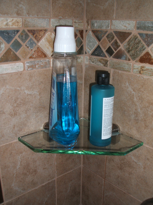 Tempered Glass Shelf Triangle Custom Size By Flooring