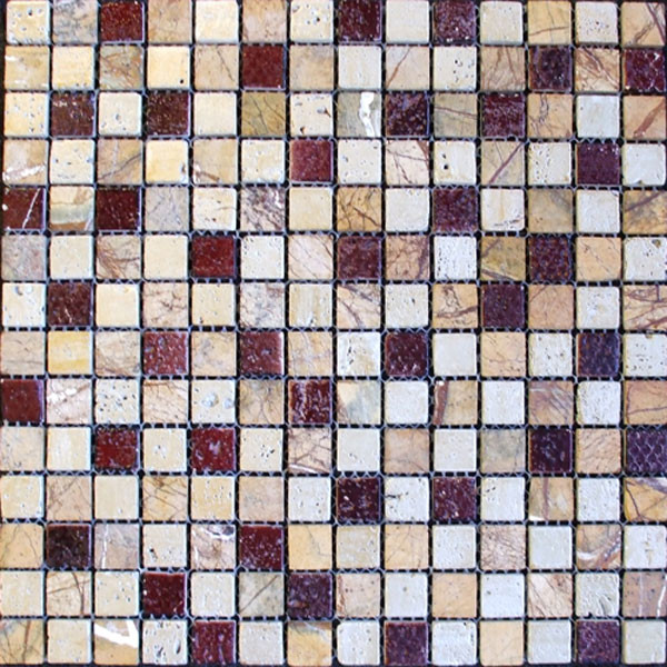 Glass and Art Marble Mosaic Mix