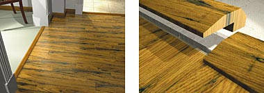 End Molding Carpet Reducer Solid Wood By Shaw Industries - Hardwood floor transition