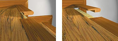 Awesome Overlap Stairnose Solid Hardwood