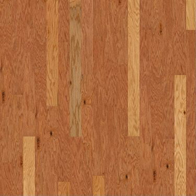Engineered Rustic Red Oak Heartland - Rustic Natural