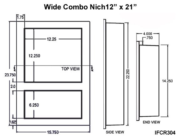 Preformed Square 01 Dimensions