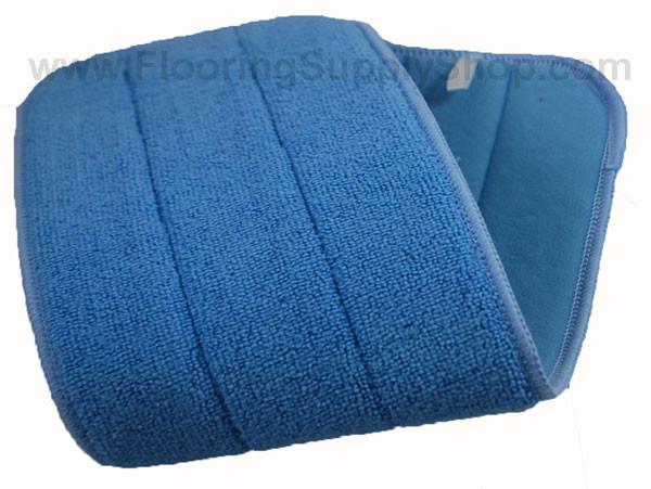 Light Duty Microfiber Wood And Stone Pad Blue By