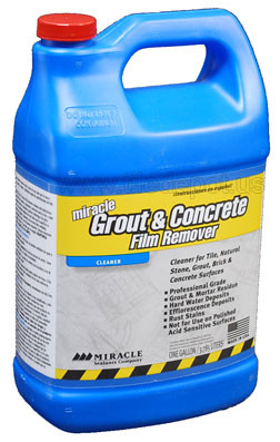 GCFR Grout n Concrete Film Remover Hydrochloric Acid Gallon