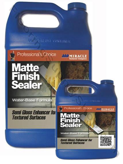 Miracle Sealants Matte Gloss Finish Sealer By