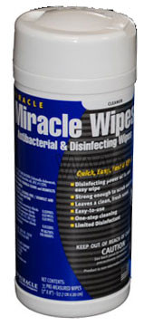 Miracle Wipes Antibacterial And Disinfecting By Miracle