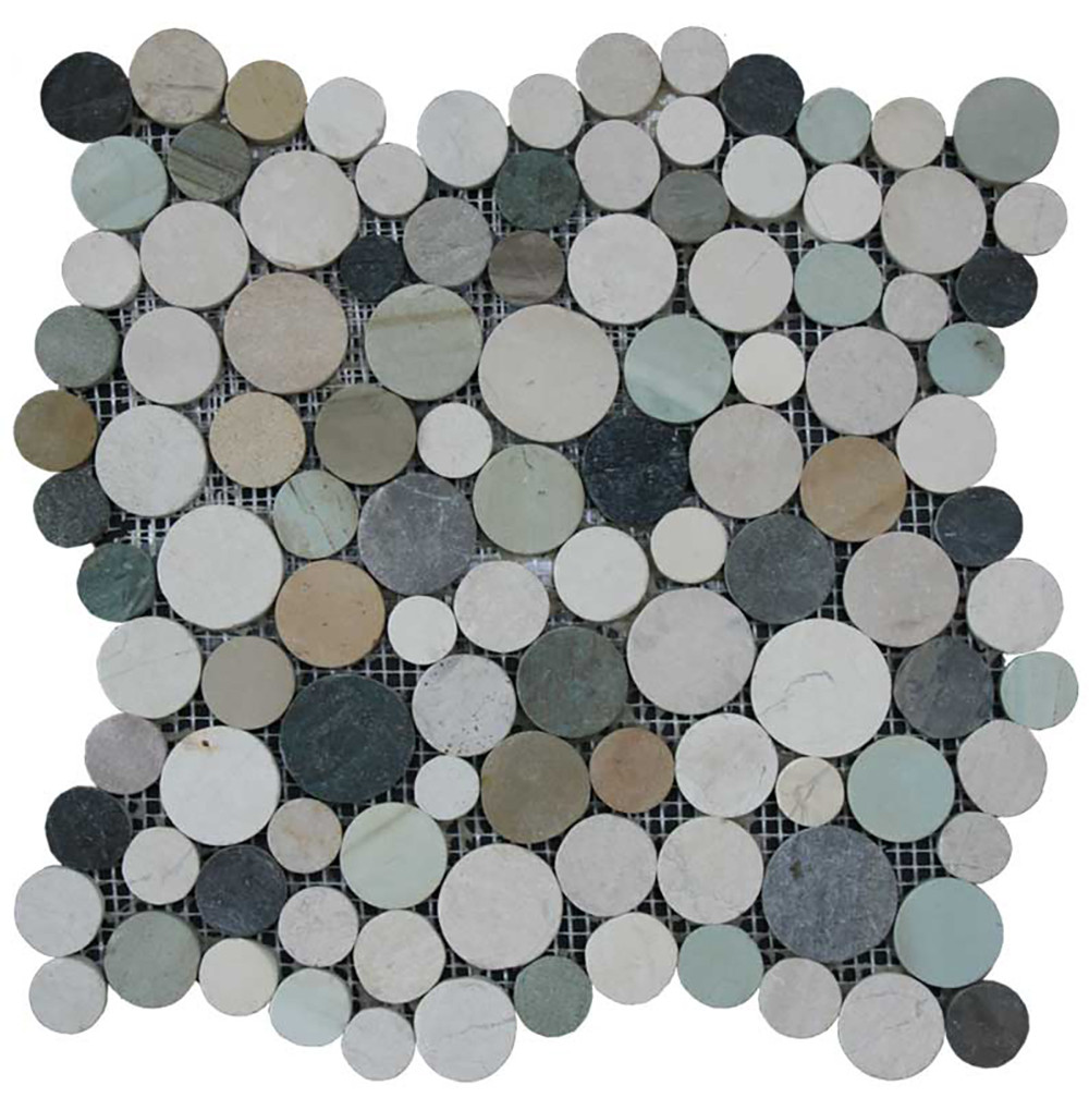 Botany Bay Pebbles-Stone Coin Collection - Botany Bay Blend