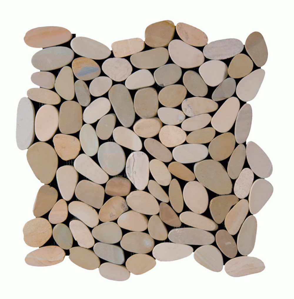 Sliced Pebbles Collection - Olive