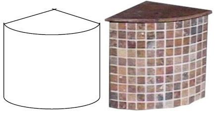 corner shower shelves, shower shelves, shower recessed shelves, tile ready shower shelf