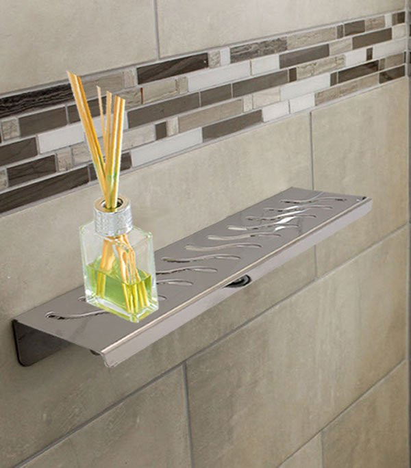 Aco Showershelf Stainless Steel Quadrato By