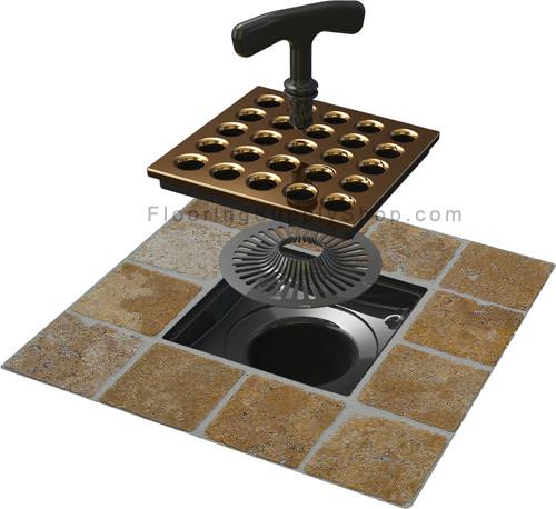 Shower Drain Hair Trap By Flooring Supply Shop