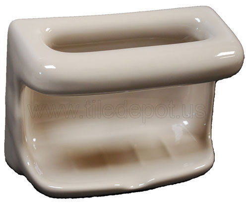 Soap Dish With Wash Cloth Parchment By Hcp Industries At