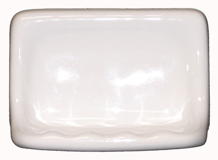 ceramic bathroom accessories ceramic glaze soap dish white