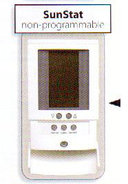 Owner S Manual Non Programmable Sunstat Control 500675 By Suntouch A Division Of Watts Water Technologies Inc