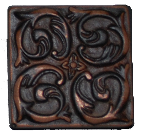 Metal Tile Oil Rubbed Bronze The Rocks 2 X 2 At