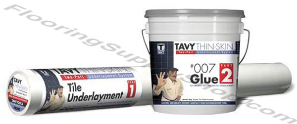 TAVY Thin-Skin Underlayment System with 007